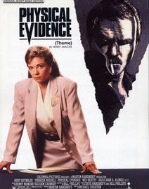 Physical Evidence (Theme) - Original Sheet Music Edition