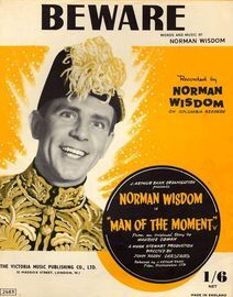 Beware - Recorded by Norman Wisdom on Columbia Records - Norman Wisdom in