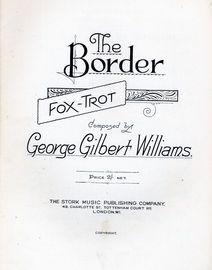 The Border - Fox Trot for Piano