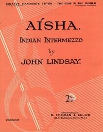 Aisha, Indian Intermezzo -  Piano Solo