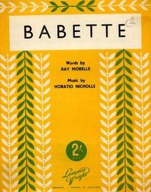 Babette - Song with English and French words