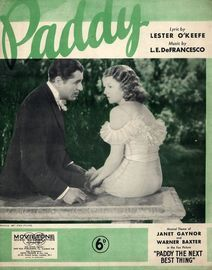 Paddy  -  Janet Gaynor and Warner Baxter in