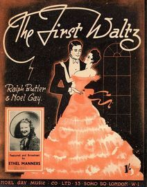 The First Waltz as performed by Ethel Manners