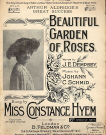 Beautiful Garden of Roses -  Miss Constance Hyem