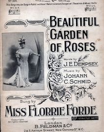 Beautiful Garden of Roses -  Song in the key of F major for Low voice - Featuring Miss Florrie Forde
