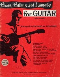 Blues, Ballads and Laments for Guitar - Solos or Duets