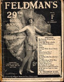 Feldman's 29th Song Annual - Complete Words and Music with Tonic Sol-Fa Setting
