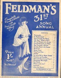 Feldman's 31st Song Annual - Complete Words and Music with Tonic Sol-Fa Setting