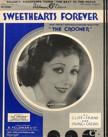 Sweethearts Forever - From the First National/Vitaphone Production ''The Crooner''
