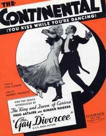 The Continental (You Kiss While You're Dancing) - Song from the film