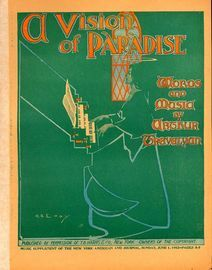 A Vision of Paradise - Music Supplement of the New York American and Journal, Sunday, June 1st, 1902