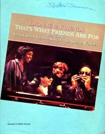 Thats What Friends are For - Dionne & Friends, featuring Elton John, Gladys Knight and Stevie Wonder
