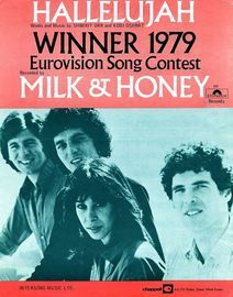 Hallelujah -  Milk and Honey - Eurovision Winner 1979