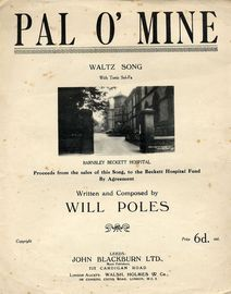 Pal O' Mine - Waltz Song - with Tonic Sol-Fa