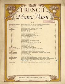 Romance without Words (Romance sans Paroles) - Op. 17, No. 3 - From French Piano Music Series