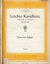 Light Cavalry Ouverture - For Piano - Edition Schott No. 07428
