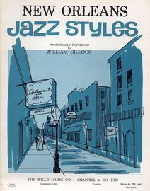 New Orleans  - Jazz Styles - Eloquently devised for the Keyboard and Pianistically Patterned