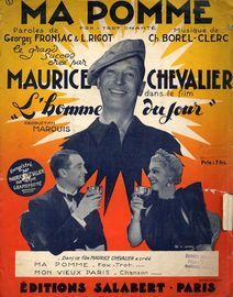 Ma Pomme - Fox Trot Chante - Creation Maurice Chevalier dans le film