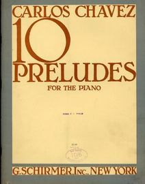 10 Preludes for the Piano