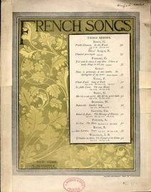 Vieille Chanson (In the Woods) - French songs, third series - Key of A flat