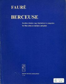 Berceuse - For Flute (Oboe or Clarinet) and Piano - Op. 16 - Editio Musica Budapest No. Z. 7674