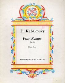 Kabalevsky Four Rondos - Op. 60 - For Piano Solo
