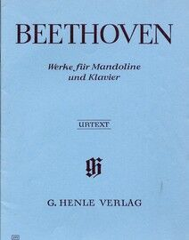 Beethoven - Works for Mandolin and Piano - Urtext Edition