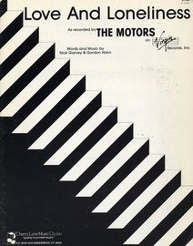 Love and Loneliness - Recorded by The Motors
