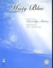 Misty Blue - Performed by Dorothy Moore - Piano - Vocal - Guitar
