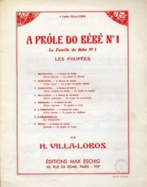 O Polichinello - A Prole do Bebe (La famille du Bebe) No. 7 - Piano Solo - Eschig edition no. M.E.2653