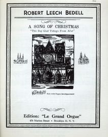 ''This Day Glad Tidings from Afar'' - A Song of Christmas - Solo with Organ Accompaniment