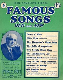 Famous Songs - Old and New - Eight Complete Pieces - No. 4