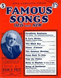 Famous Songs - Old and New - Eight Complete Pieces - No. 5