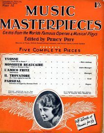 Music Masterpieces - Part 32 -  Dec 30th, 1926 - Gems from the Worlds most famous Operas and Musical plays - Special Articles by Ivy Tresmand, Carolin