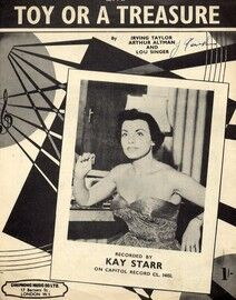 Am I a Toy or a Treasure - Featuring Kay Starr