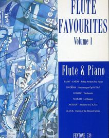 Flute Favourites Volume 1 - Flute & Piano with Seperate Flute Part