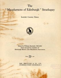 The MacPhersons of Edinburgh (strathspey) - Scottish Country Dance - With Instructions for the Dance