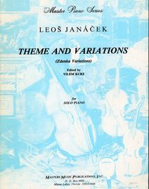 Theme and Variations (Zdenka Variations) - Master Piano Series