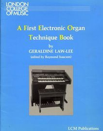 A First Electronic Organ Technique Book