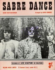 Sabre Dance - Recorded by Love Sculpture on Parlophone