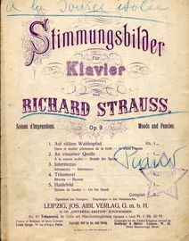 An einsamer Quelle (Beside the Spring) - Stimmungsbilder fur Klavier No. 2 - For Piano Solo