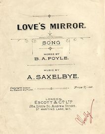 Love's Mirror - Song in key of E major