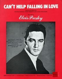 Can't Help Falling In Love - Recorded by Elvis Presley