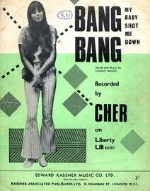 Bang Bang (My Baby Shot Me Down) - Song - Featuring Cher