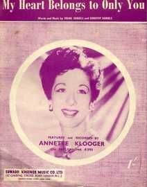 My Heart Belongs to Only You - Featuring Annette Klooger