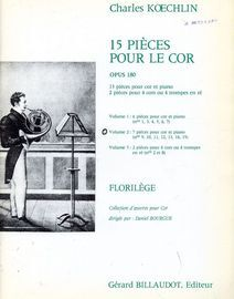 7 Pieces for Horn and Piano - Volume 2 of '15 Pieces pour le Cor'