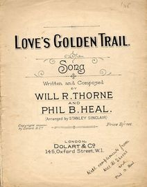Love's Golden Trail - Song in key of F major
