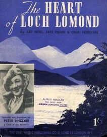 The Heart of Loch Lomond, featuring Peter Sinclair (Cock of the North)