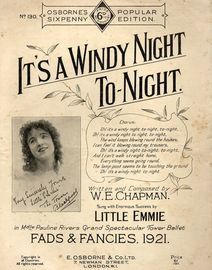 It's A Windy Night Tonight -  J H Wakefield in
