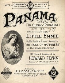 Panama (In Sunny Panama) - Introduced and Sung by Little Emmie in Mdlle. Pauline Rivers' Revuette